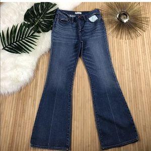 Madewell Flea Market Flare Denim Jeans Wide Leg